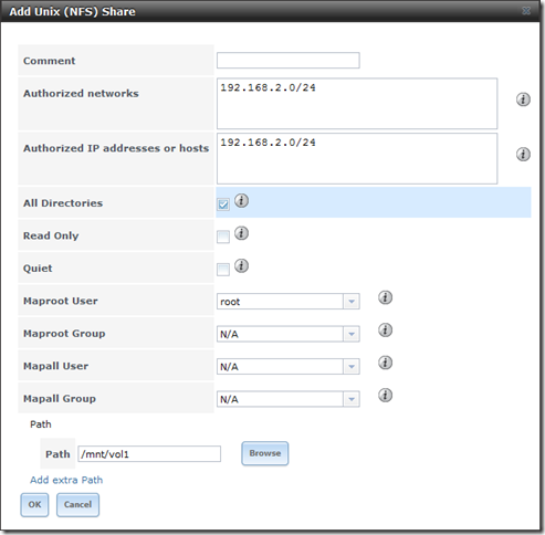 Configuring FreeNAS 8 3 – iSCSI and NFS Storage for VMware
